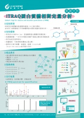 iTRAQ蛋白質體相對定量分析Isobaric tags for relative and absolute quantitation (iTRAQ)